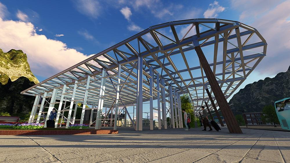 C lculo e ingenier a detalle estructura met lica cubierta - Estructura metalica cubierta ...