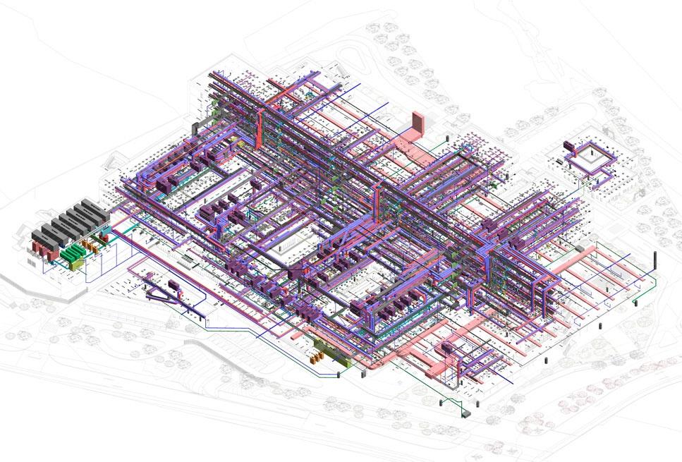 Modelado arquitectónico y MEP – Técnico