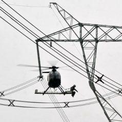Inspección de líneas eléctricas