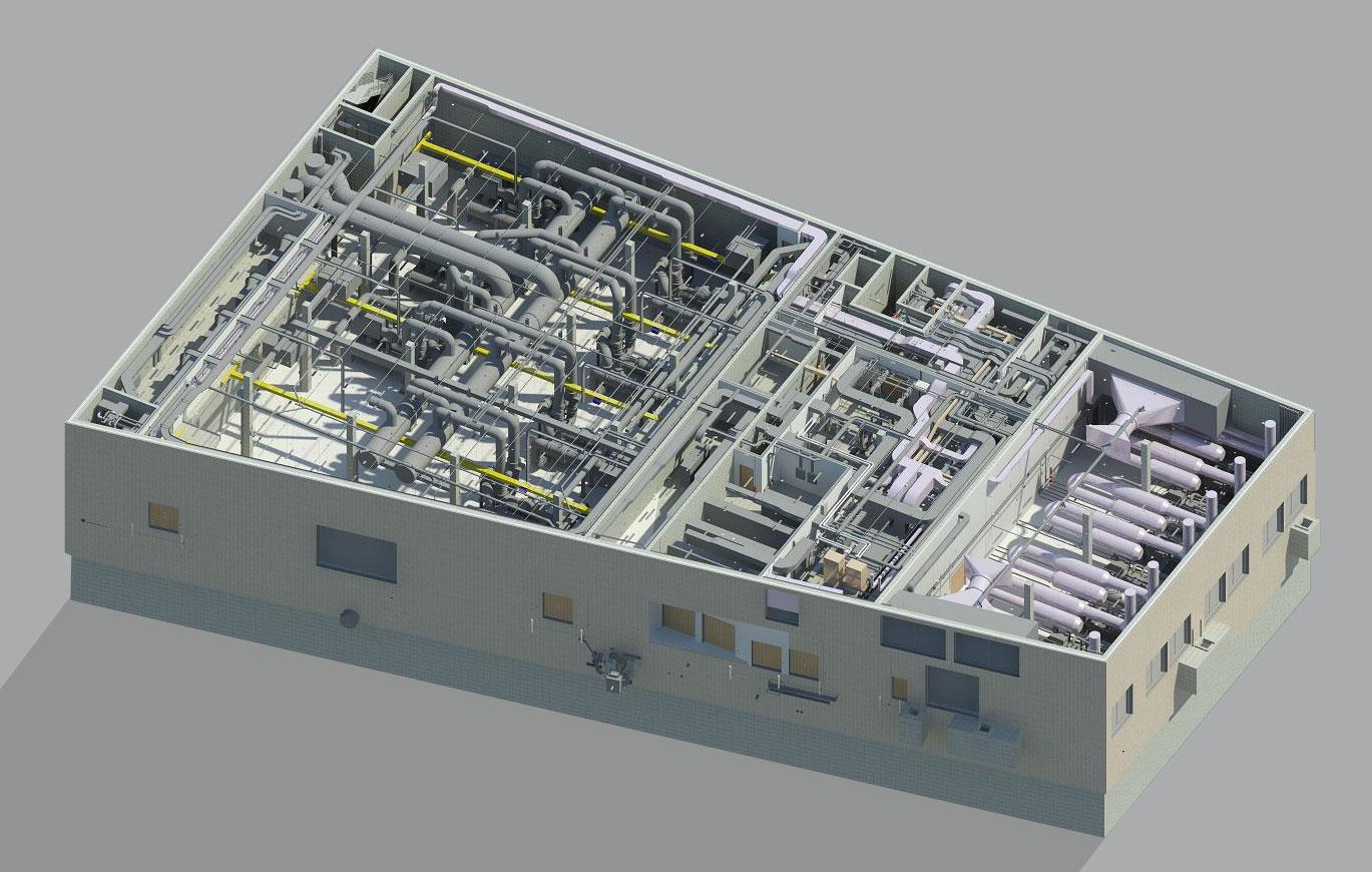Modelado arquitectónico y MEP - Render