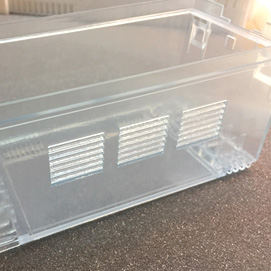 Acabado transparente industrial