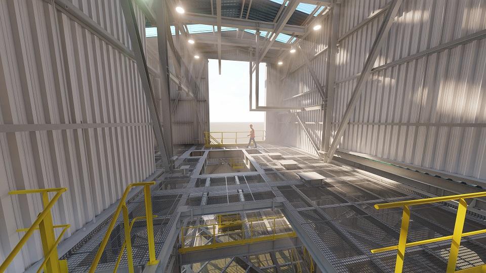 calculo y diseño estructural mineria Taim Weser