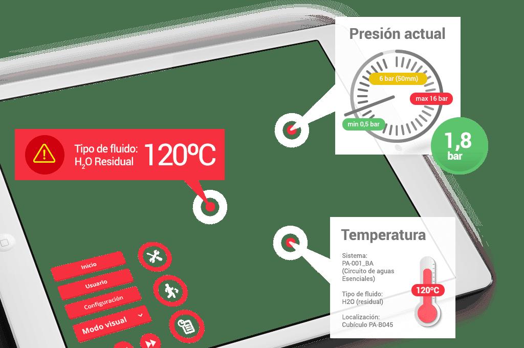 interfaz e información facilitada tras escaneo