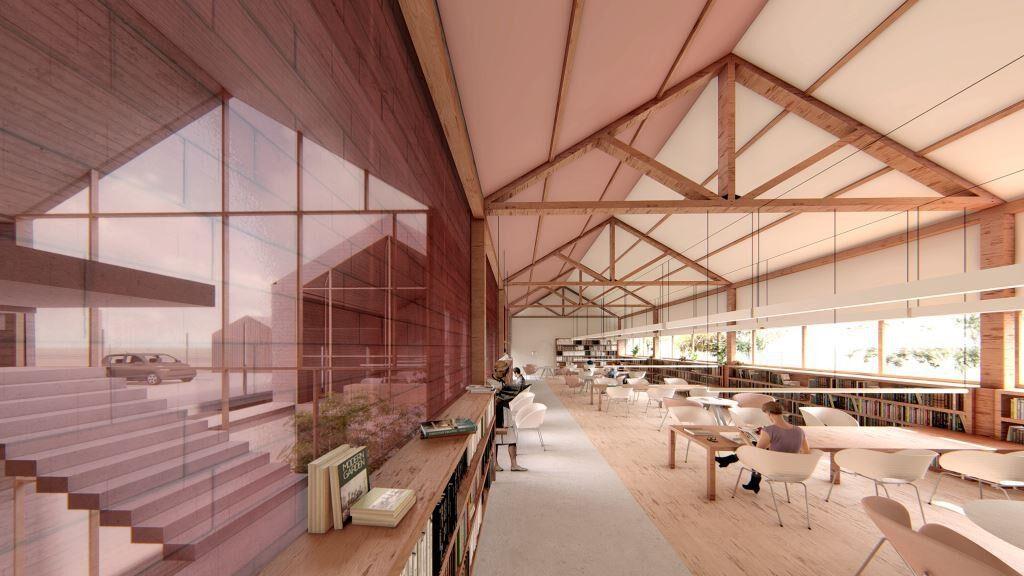 Proyecto de Arquitectura Sostenible | Biblioteca Las Tablas