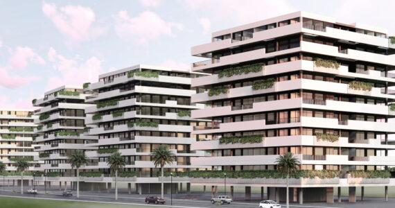 Proyecto urbanismo bloques viviendas