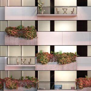 arquitectura fachadas verdes