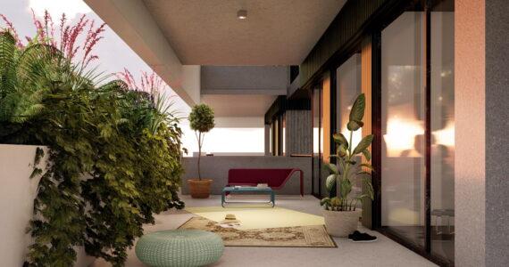 viviendas bioclimaticas con terraza