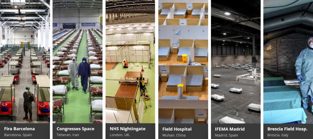 hospitales de campaña covid