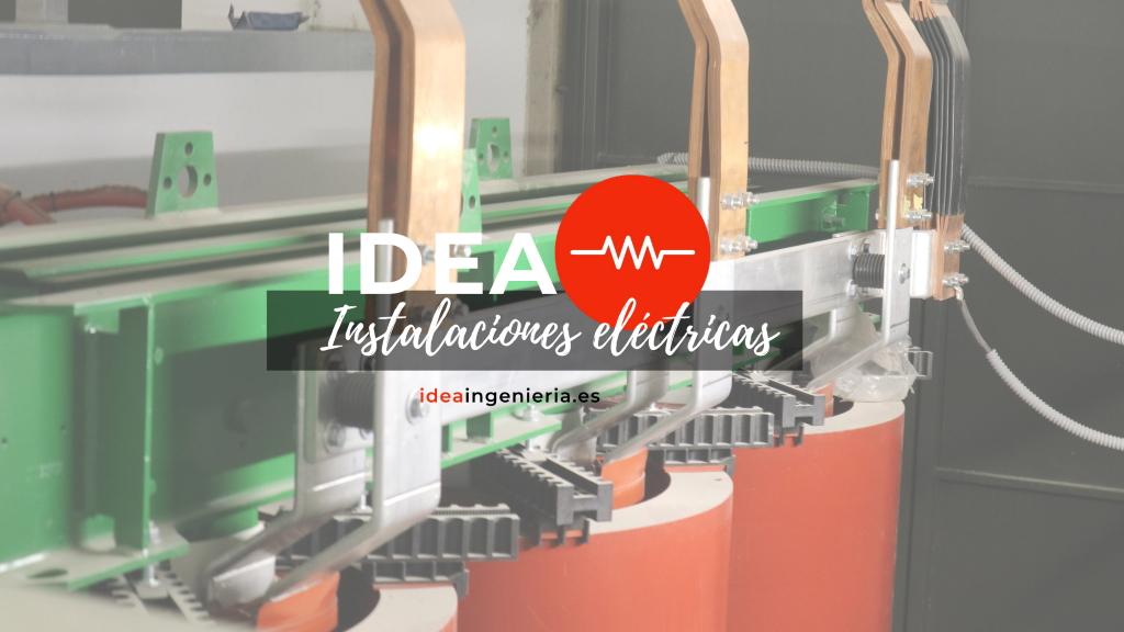 nuevo logo servicio instalaciones electricas idea